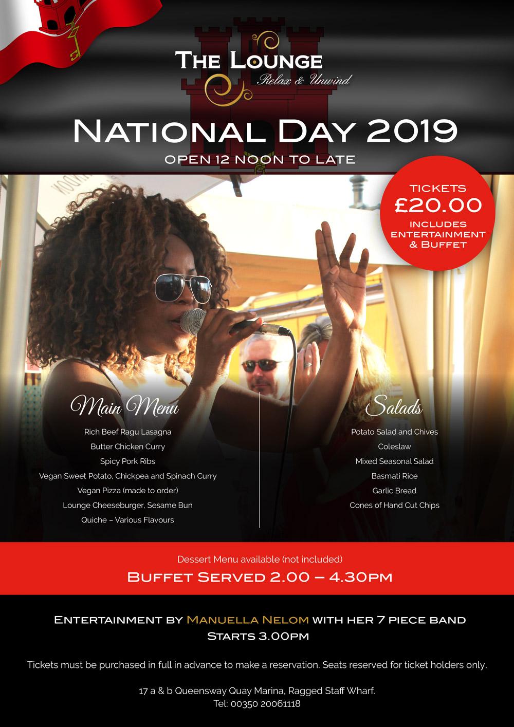 National Day Menu Image